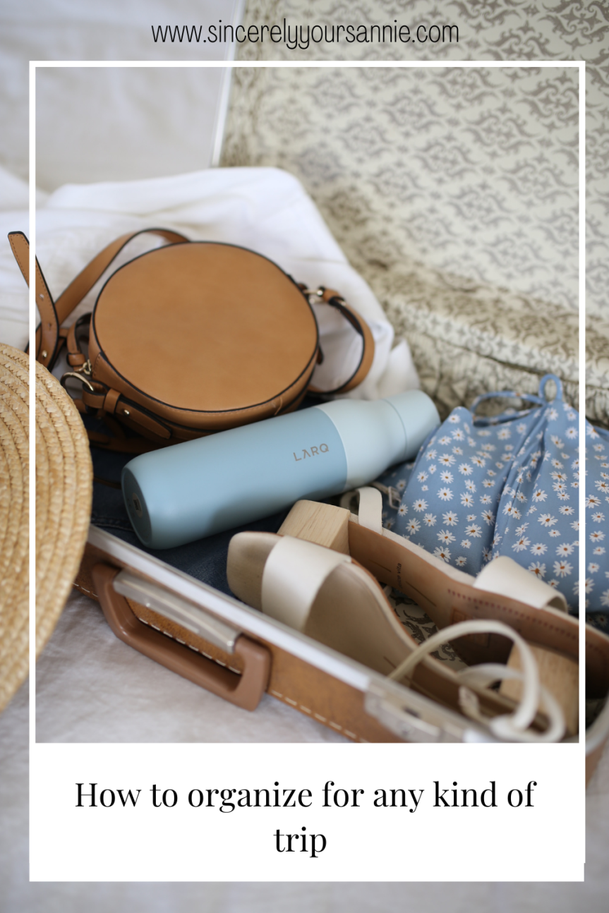 How to organize for any kind oftrip